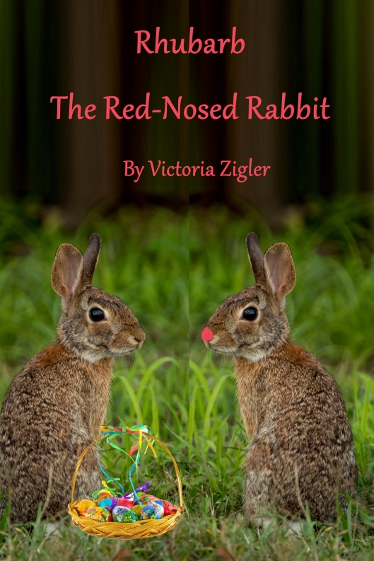 Rhubarb The Red-Nosed Rabbit Cover 1 - 1600x2400