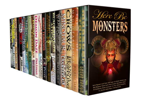 boxset Monsters